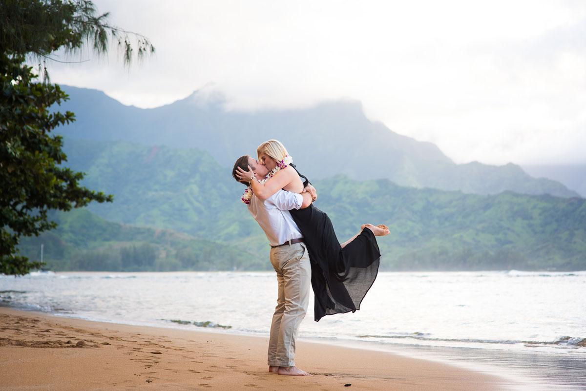 Surprise Proposal success on Kauai