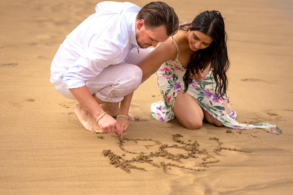 Romantic Engagement Photography Kauai