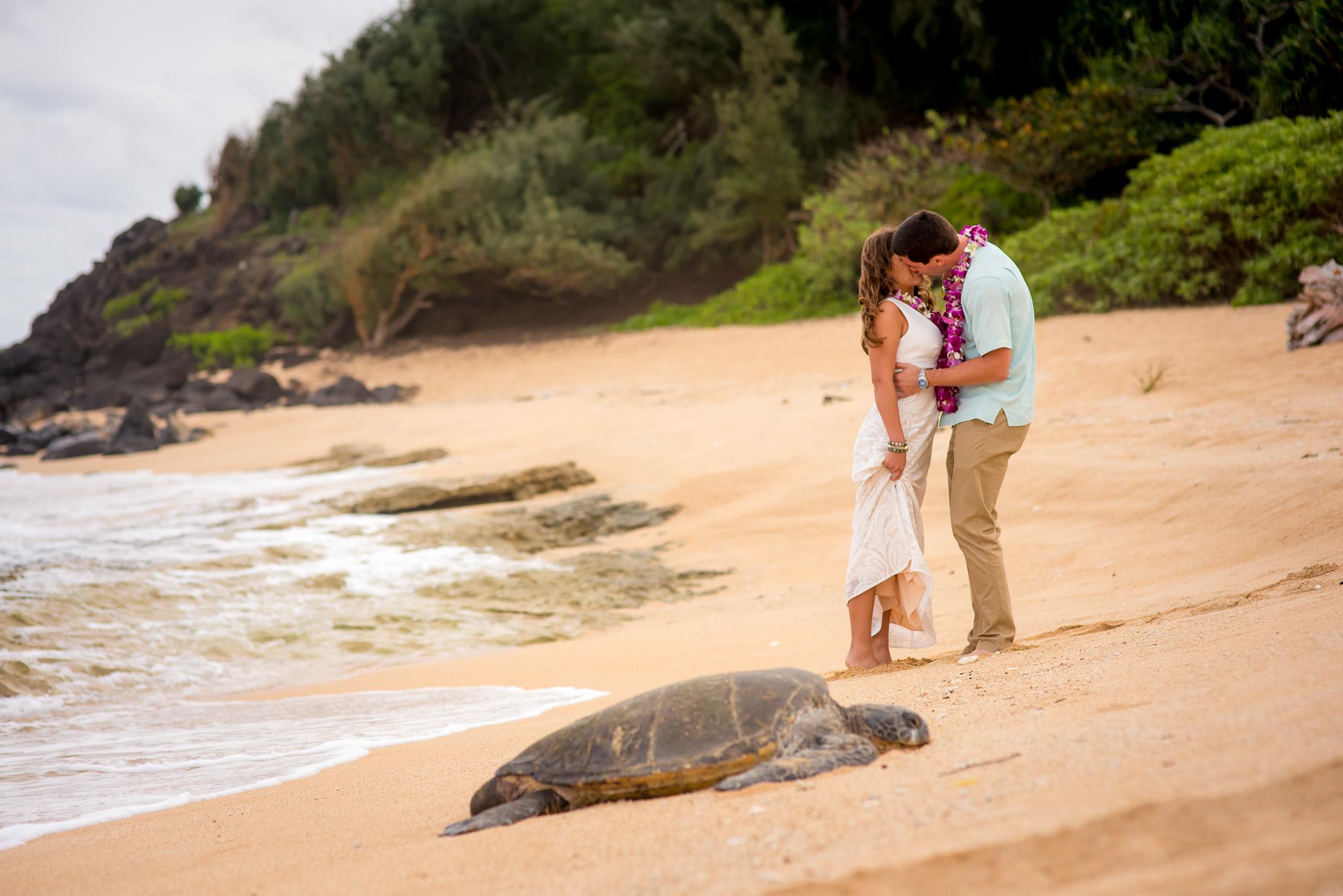 Kauai Wedding Photography at the Beach