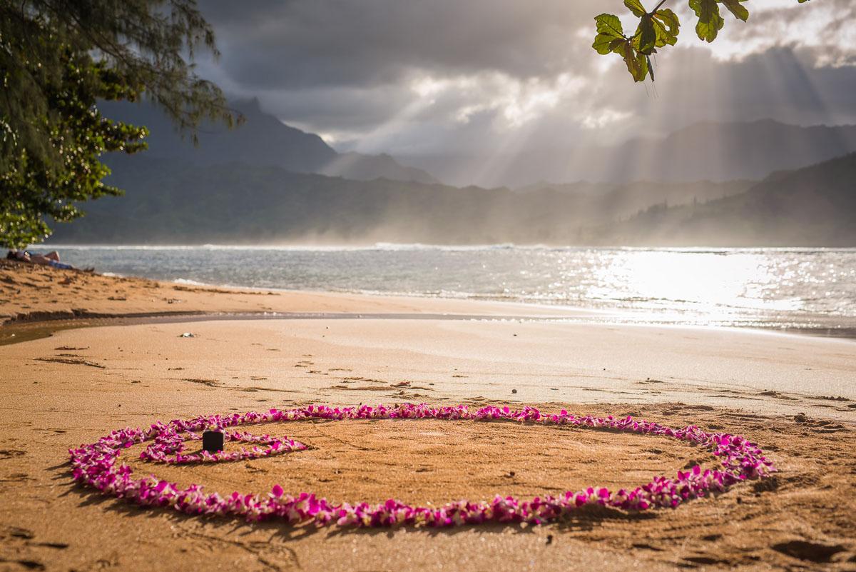 Surprise Proposal near St. Regis Kauai