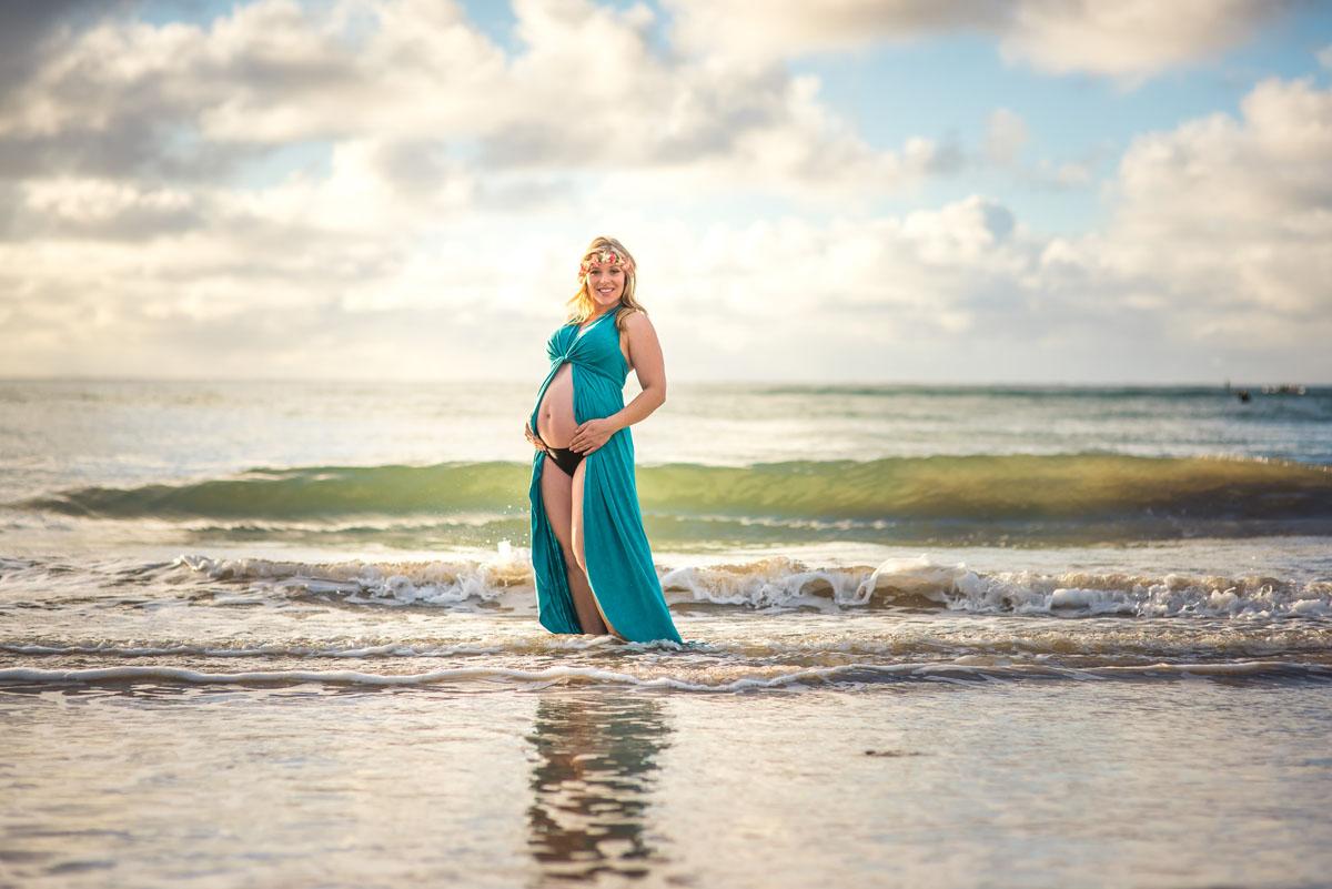 Maternity Portraits on Kauai