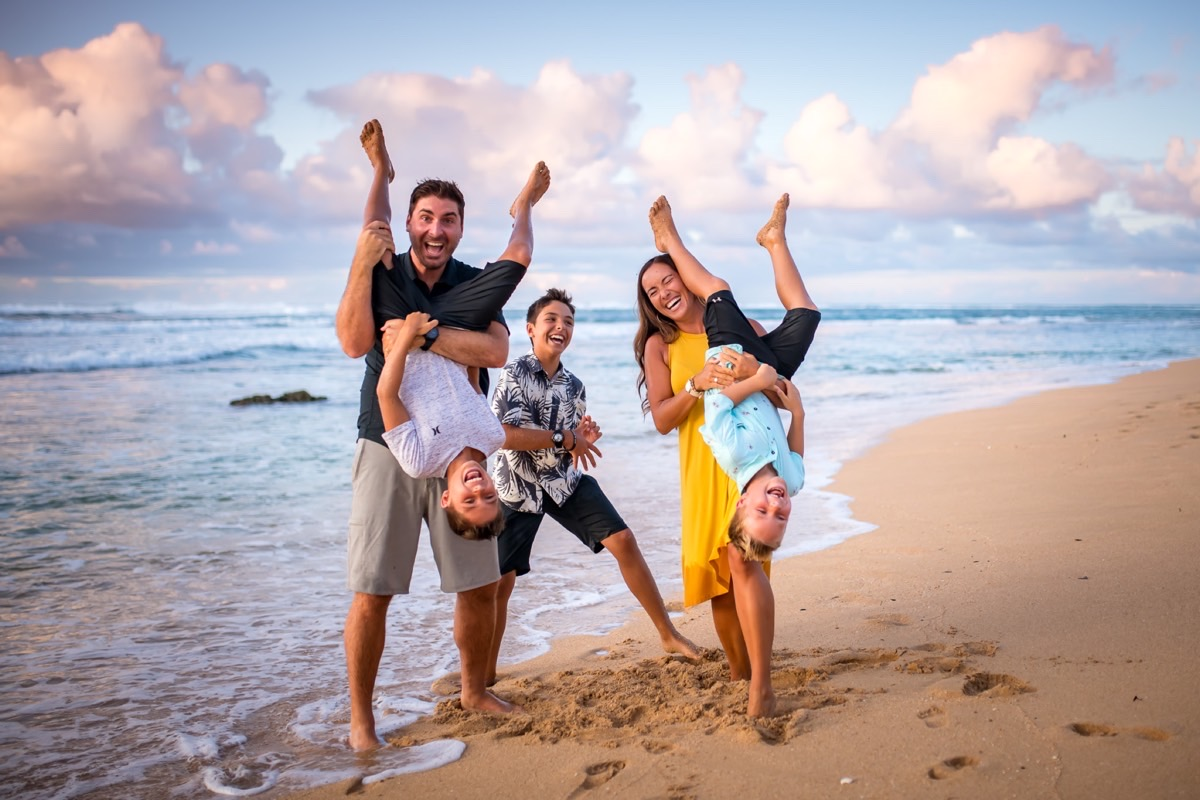 Kauai Family photo