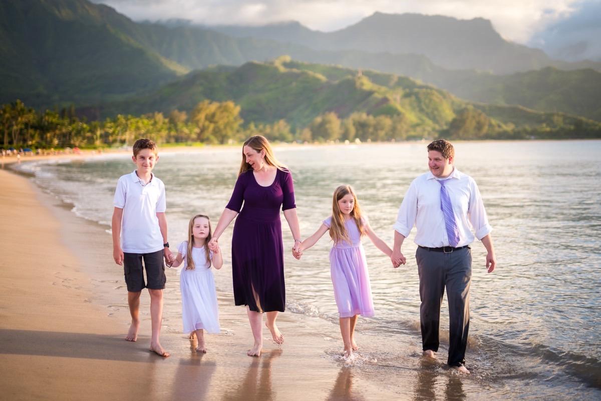 Family photography in Kauai
