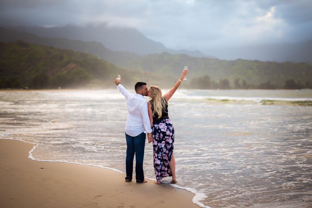 Proposal photo in Kauai