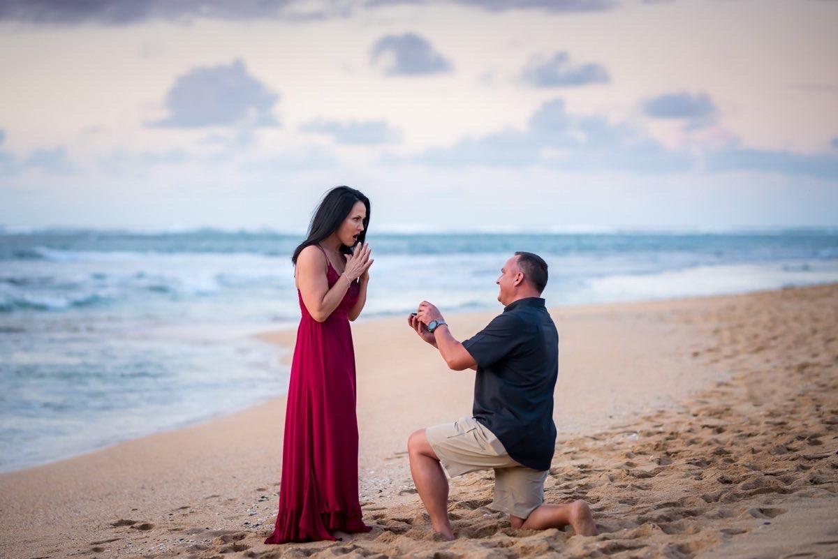 Proposal on Kauai beach