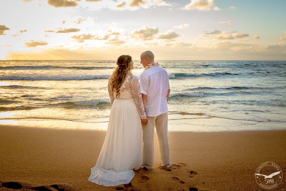 The bride and groom look all ready to build a beautiful life together.