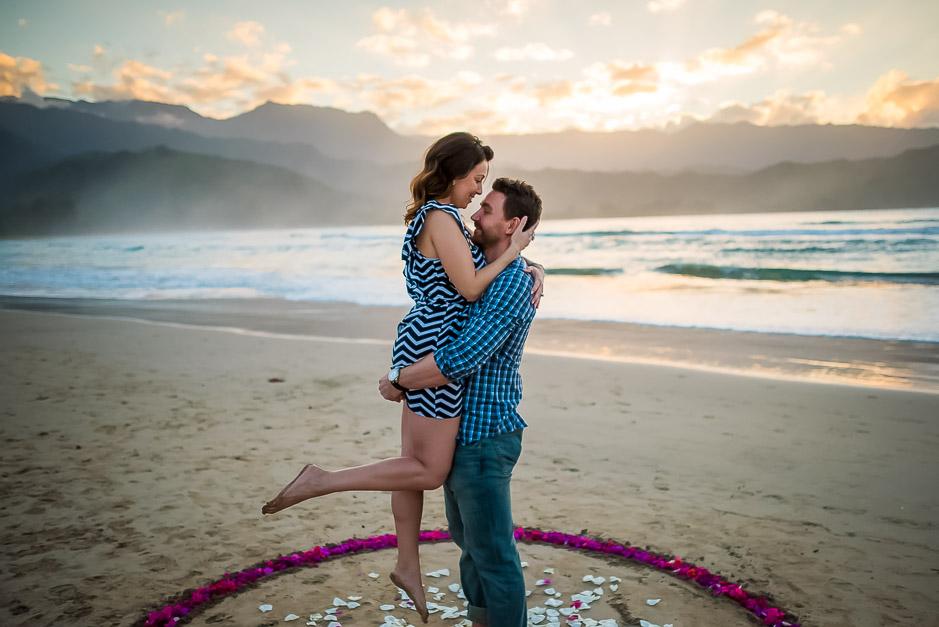 Artistic Proposal Photos on Kauai