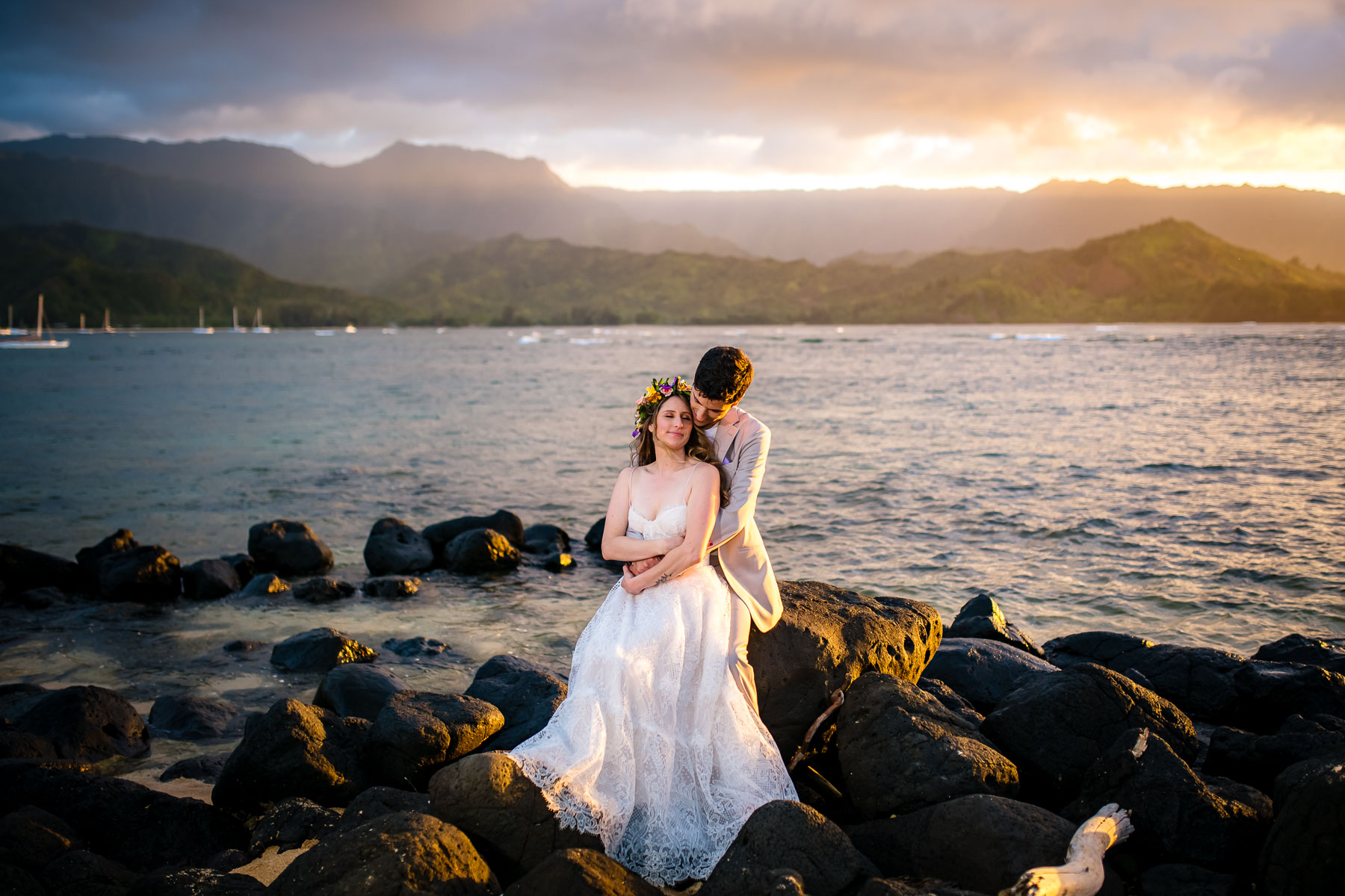 Wedding photography captured at its best - with these two lovers, standing side by side on one of the most important days of their lives.