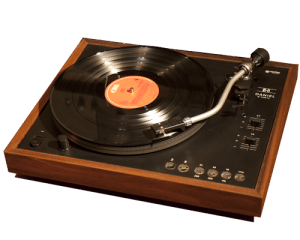 A TURNTABLE ADDS TO THE PASSION
