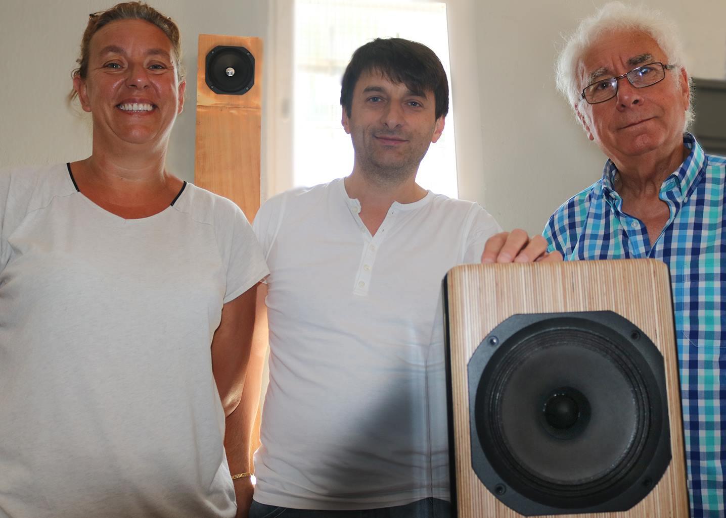 Z wizytą u rodziny Fertin w Electro Magnet Speaker