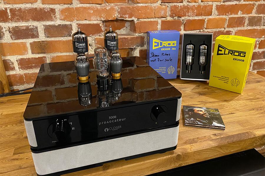 Closer Acoustics 300B Provocateur Signature with Elrog ER300B Mo tubes