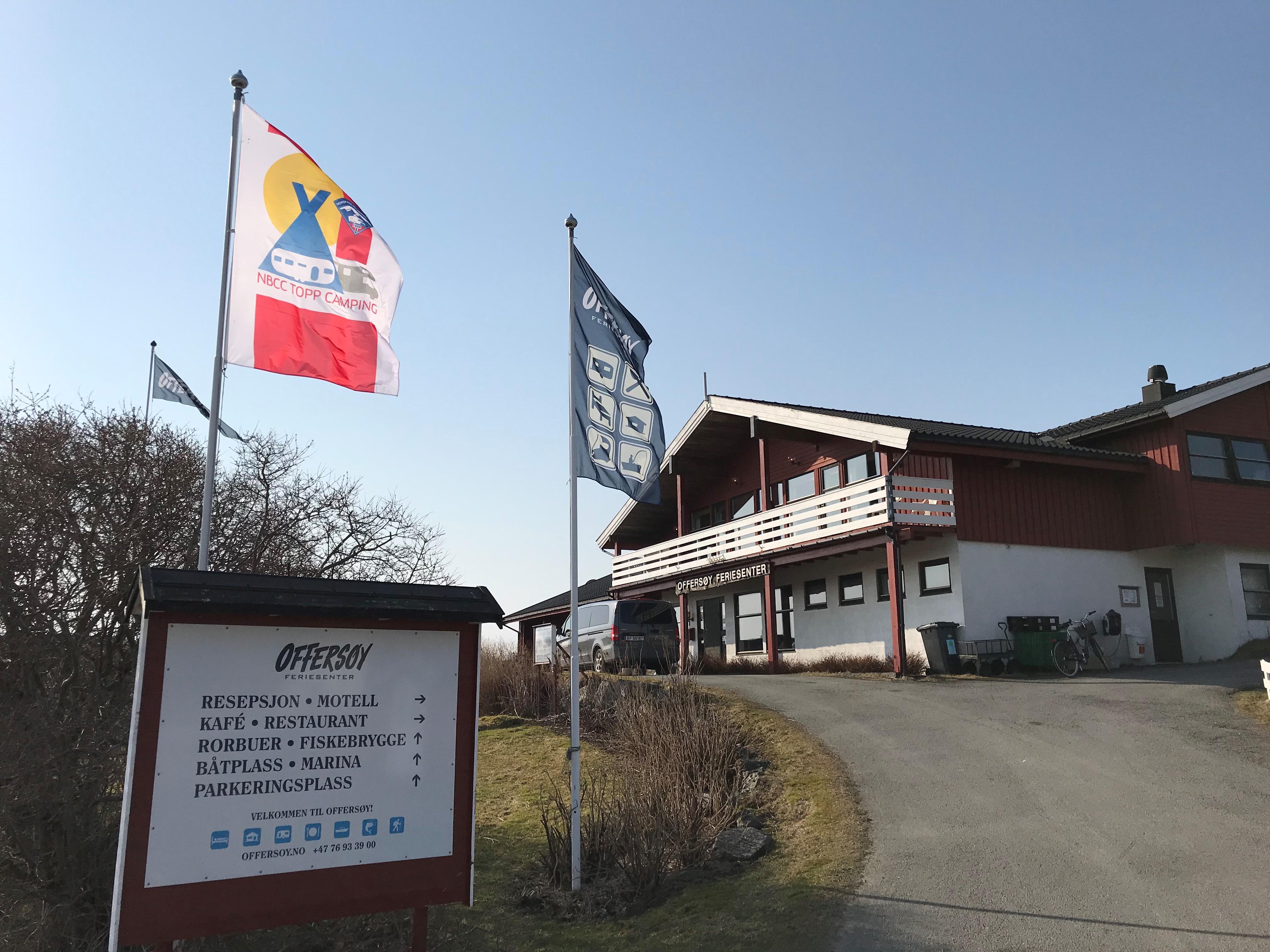 Pinsen på Offersøy Feriesenter