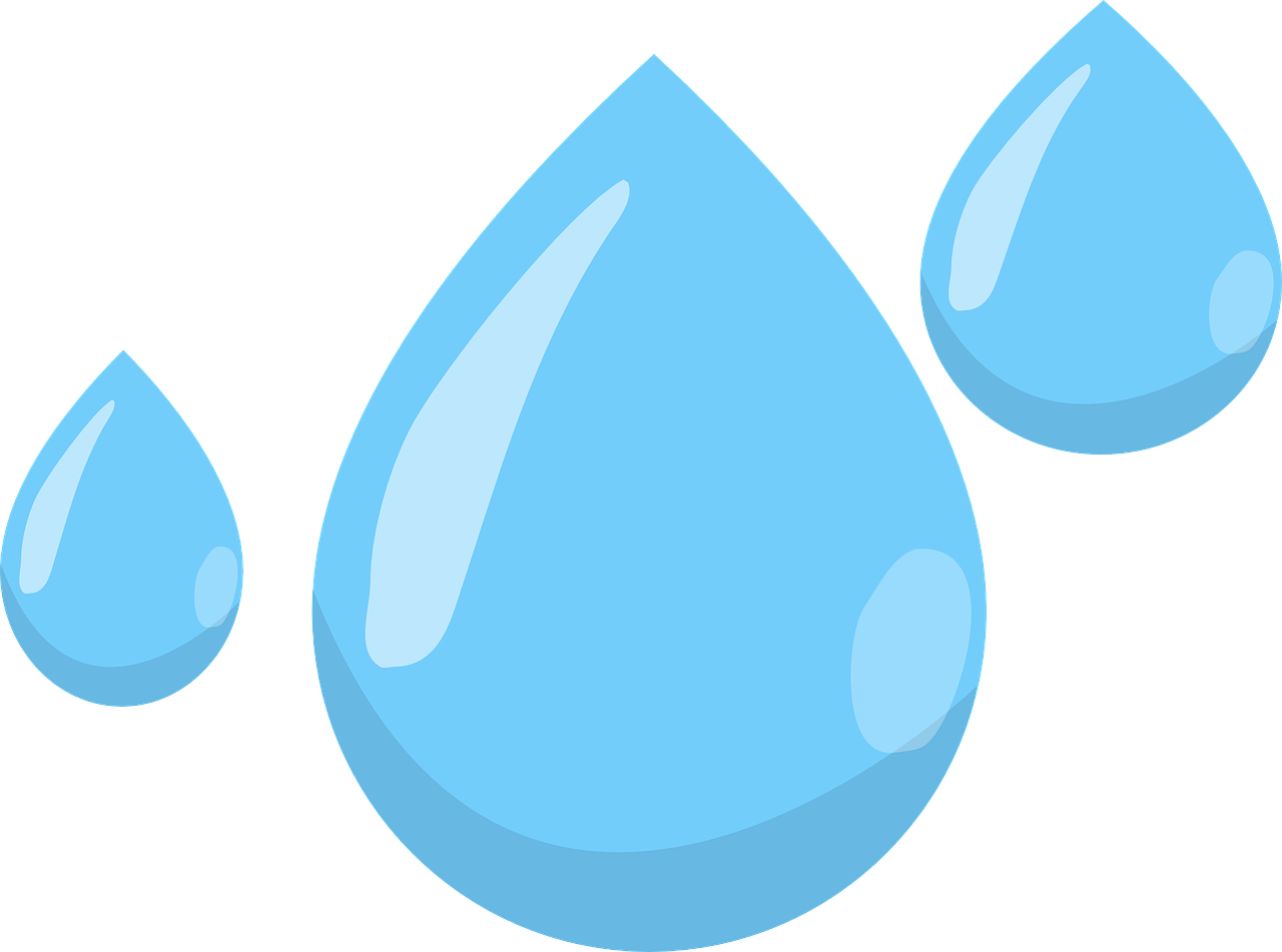 Image of water droplets - New Generation Development
