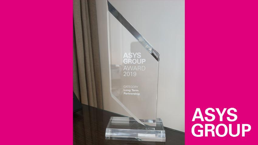 ASYS long term partnership award