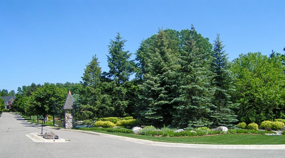 subdivision entryway