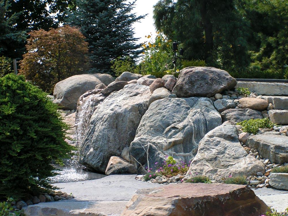 ornamental irregular boulders