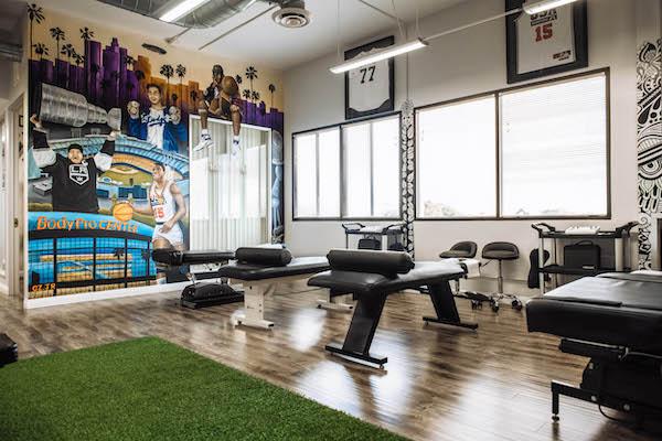 BodyPro indoor wall art and equipment