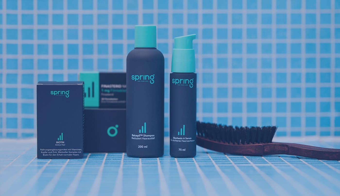 Alle My Spring Produkte gegen Haarausfall auf einen Blick