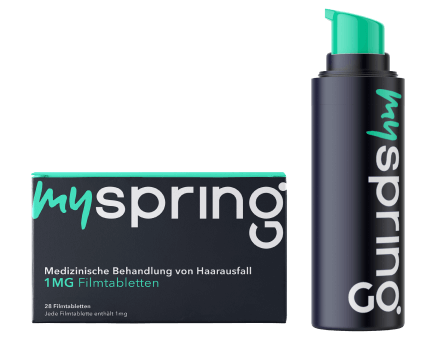 Medical-Pack bei Haarausfall | MySpring
