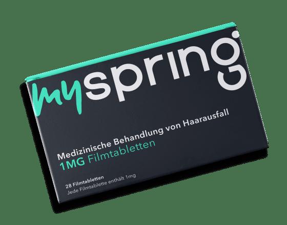Produktbild MySpring Finasterid TestKit