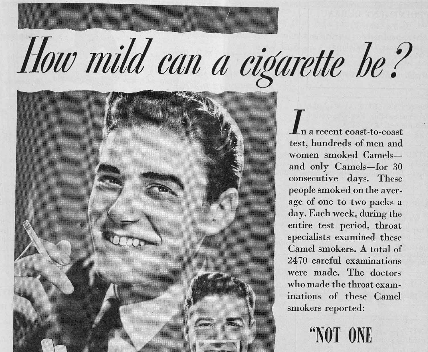 Advertisements you'll never see again.