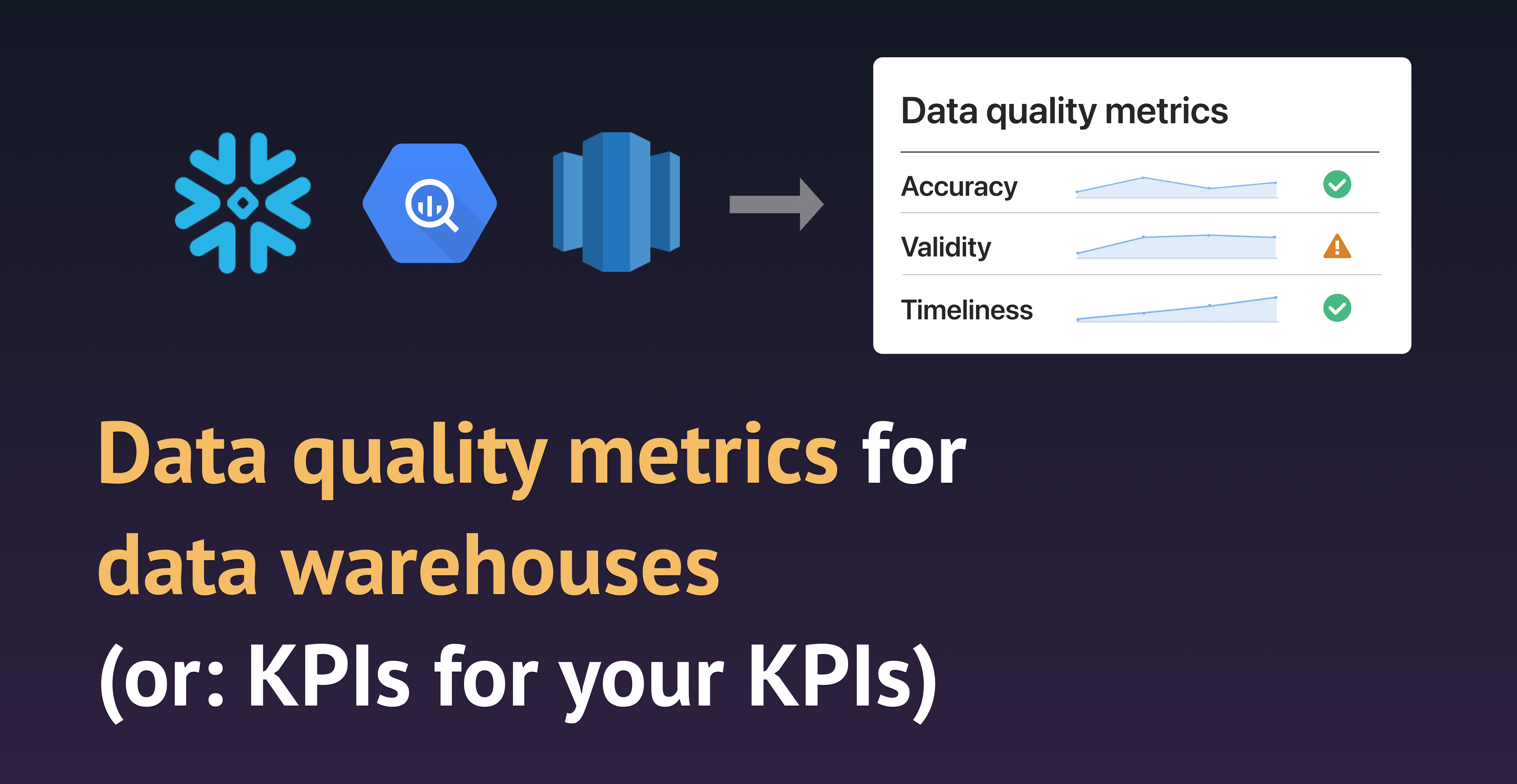 This article is primarily for data practitioners who want to improve the quality of data in their databases and data warehouses, but also those whose