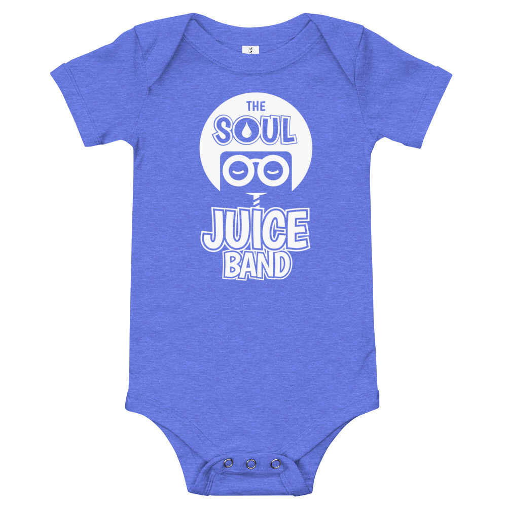 Dress your baby to the nines with this 100% cotton one piece. It has three snap leg closure for easy changing, a comfortable envelope neckline, and a beautiful print that's bound to get the baby all happy and giggling.  • 100% ring-spun combed cotton • Heather colors are 52% ring-spun combed cotton and 48% polyester • Fabric weight: 3.9 oz/y² (132.2 g/m²) • Side-seamed construction • Envelope neckline • Three-snap leg closure • Blank product sourced from Nicaragua or Honduras