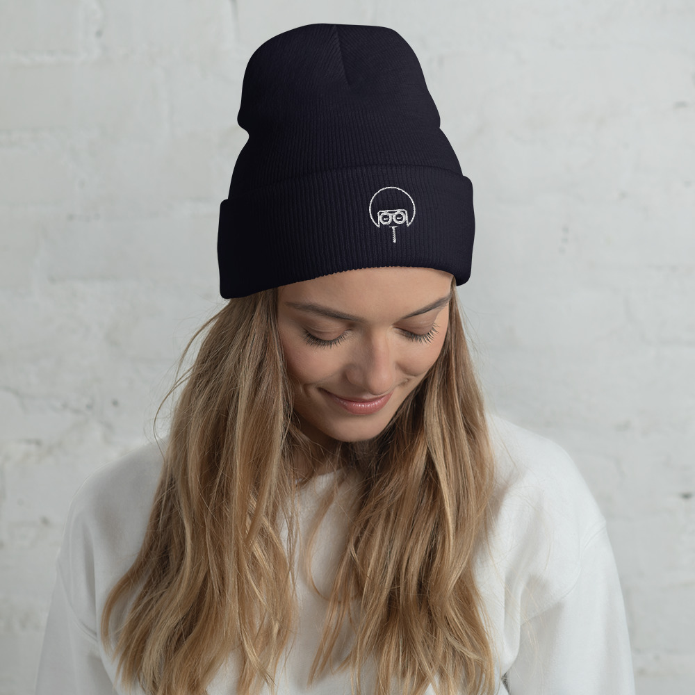 """A snug, form-fitting beanie with a custom Soul Juice Band Embroidered Mark. It's not only a great head-warming piece but a staple accessory in anyone's wardrobe.  100% Turbo Acrylic 12"""" in length Hypoallergenic Unisex style"""