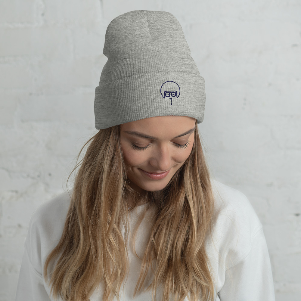 """A snug, form-fitting beanie with an Embroidered Soul Juice Mark. It's not only a great head-warming piece but a staple accessory in anyone's wardrobe.  100% Turbo Acrylic 12"""" in length Hypoallergenic Unisex style"""
