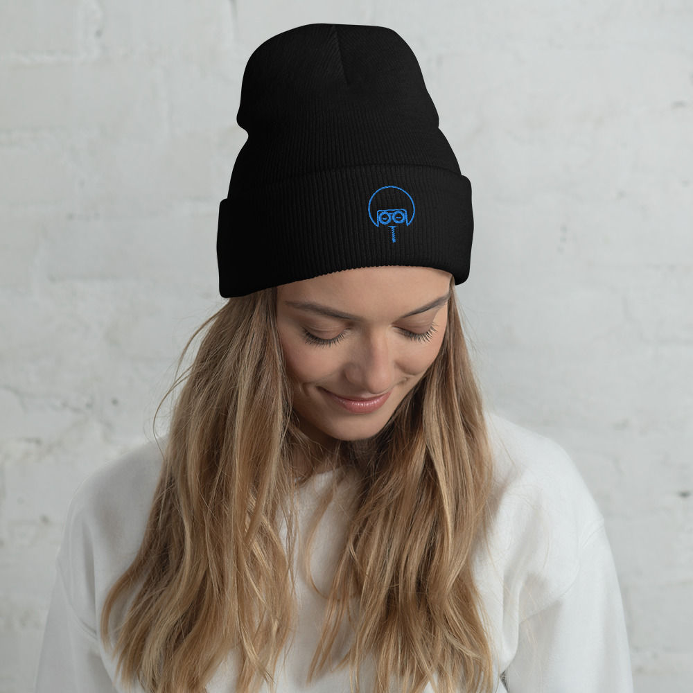"""A snug, form-fitting beanie with a custom Embroidered Soul Juice Mark. It's not only a great head-warming piece but a staple accessory in anyone's wardrobe.  100% Turbo Acrylic 12"""" in length Hypoallergenic Unisex style"""
