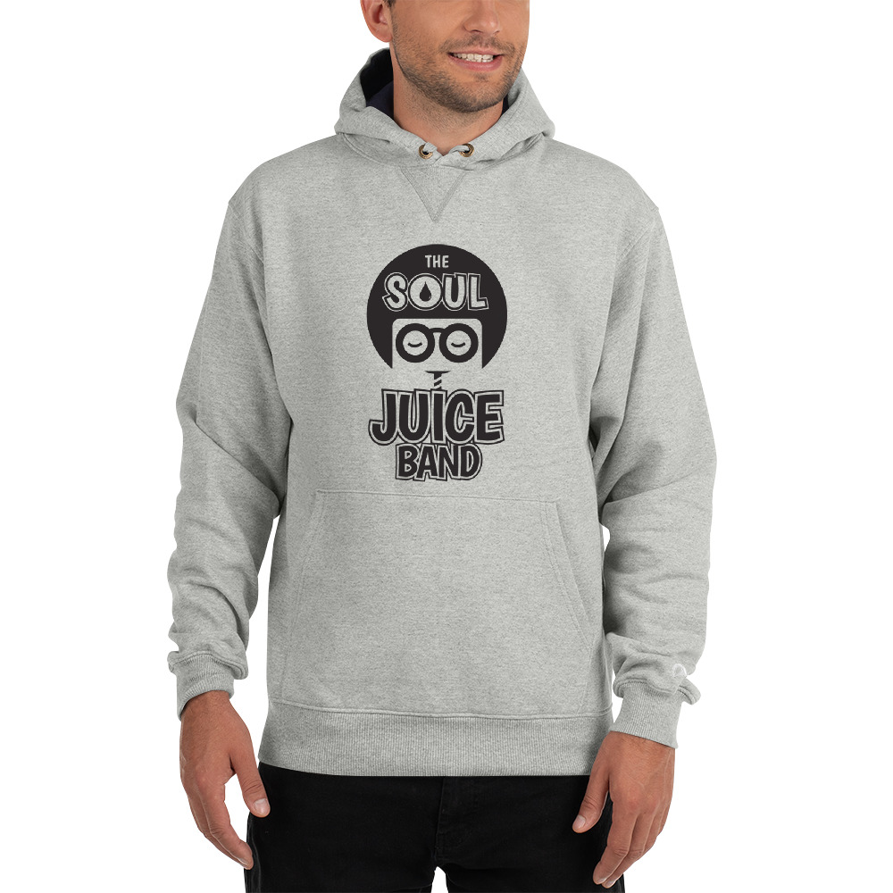 """Show off your trendy side with this Champion hoodie! The colorful print on 100% cotton shell, two-ply hood with a colored lining, and the instantly recognizable Champion logo on left sleeve all come together in this soft and durable hoodie that's made to last.  • 90% cotton, 10% polyester (light steel is 85% cotton, 15% polyester) • 100% cotton shell • Two-ply hood with a colored lining (black hoodies have a light steel lining in the hood, navy - oxford grey lining, light steel - navy lining) • V-notch rib detail at neck, and half-moon insert at the back of the neck • Tone-matching drawstrings • Front pouch pocket • 2x1 ribbed spandex enhanced cuffs and bottom band • Embroidered """"C"""" logo on left sleeve  Model is wearing size M. He's 6.3 feet (192 cm) tall."""