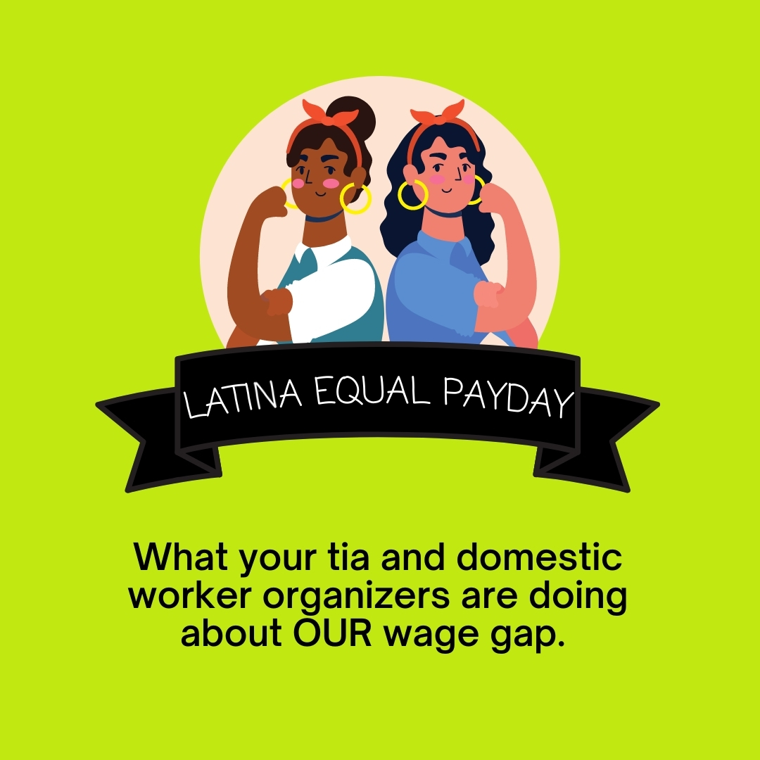 Latina Equal Pay Day: what we're doing about it.