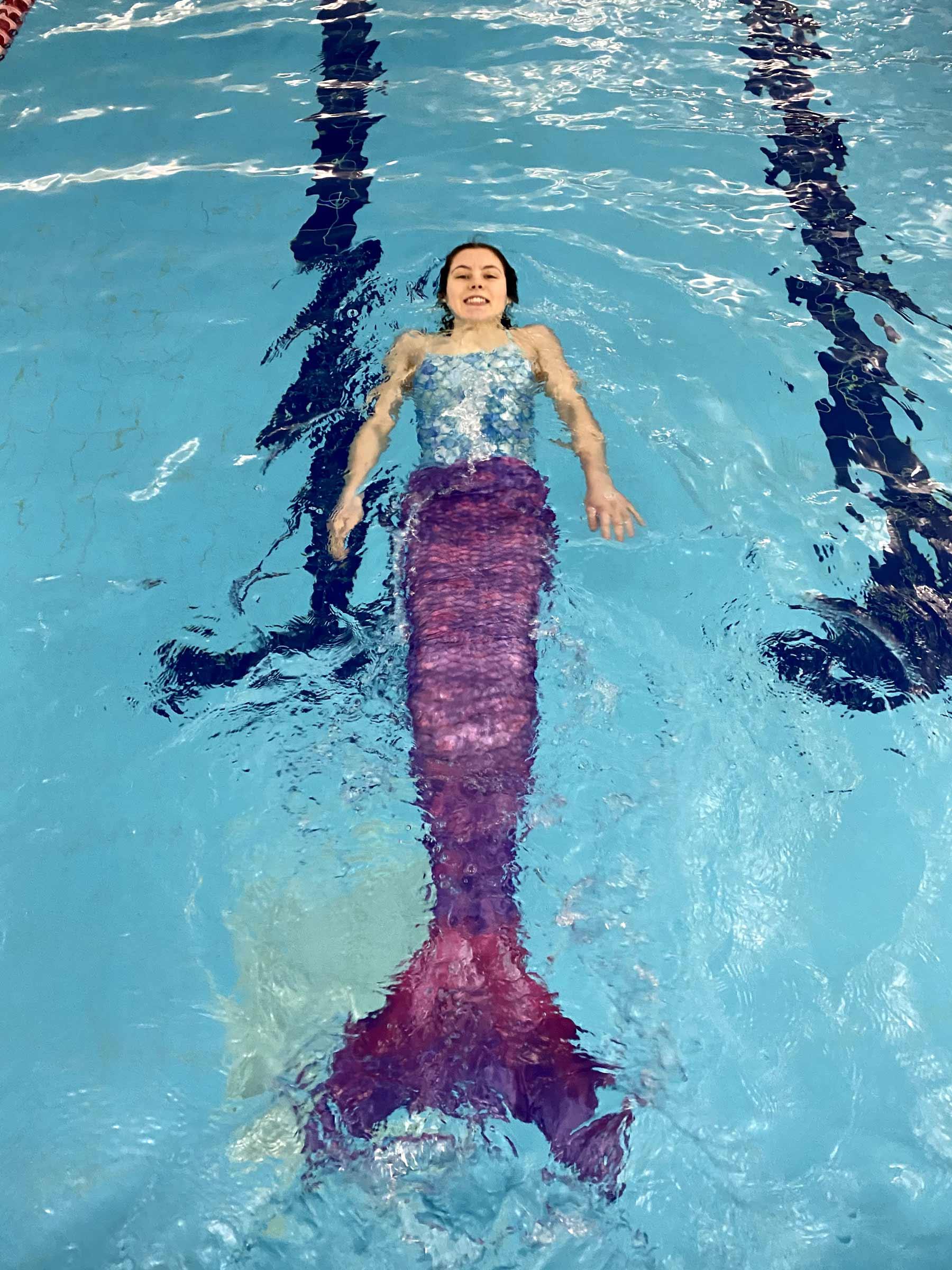 Abbie Mermaid Swimming