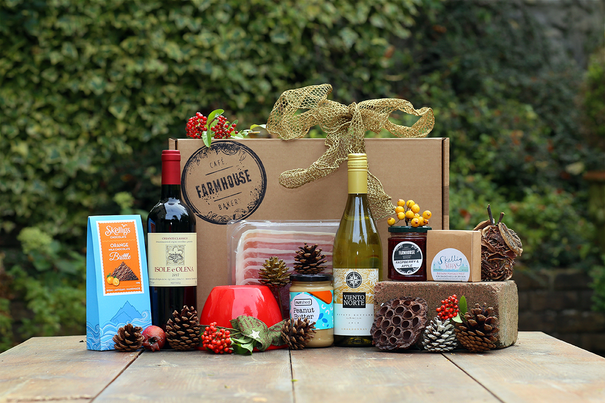 Product and Food Photography by Jenny Callanan Photography, Food Hamper by The farmhouse Cafe and Bakery