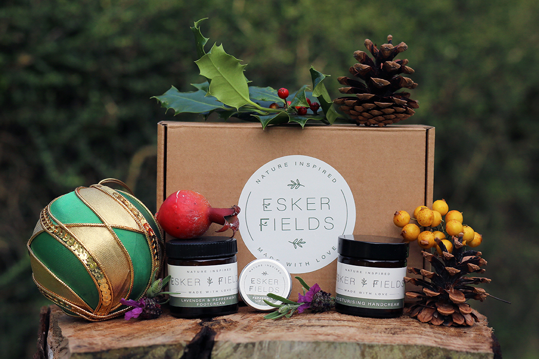 Product and Food Photography by Jenny Callanan Photography, Esker Fields handmade skincare products