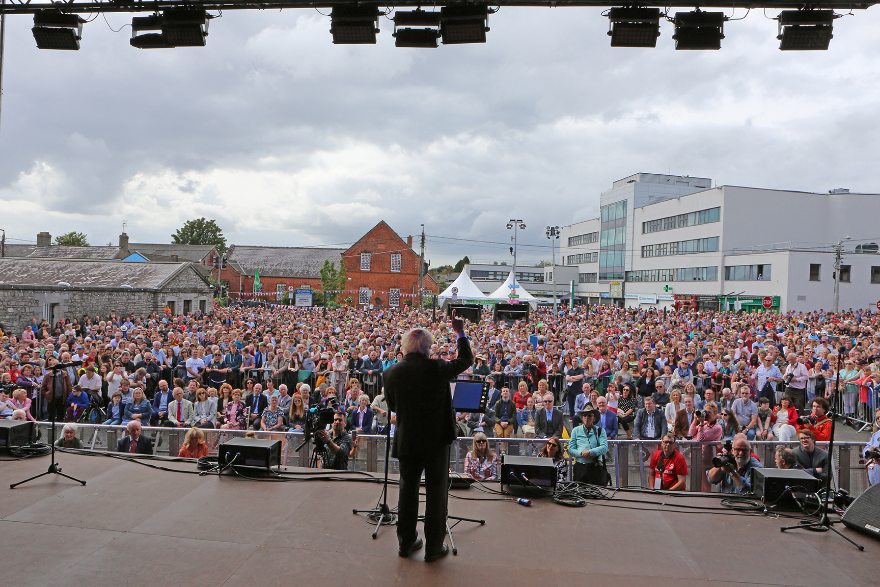 Event Photography by Jenny Matthews Photography, President of Ireland at Fleadh Cheoil na hEireann, Drogheda, Co.Louth