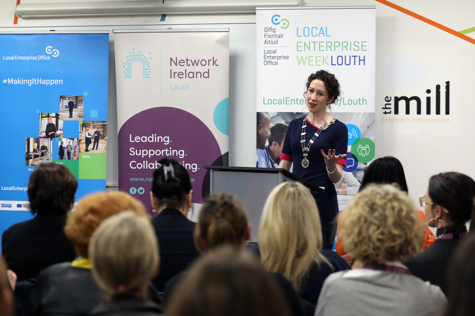 Network Ireland Louth, Stepping Up Driving Change, Jenny Callanan Photography, Drogheda, Co.Louth, The Mill Enterprise Hub