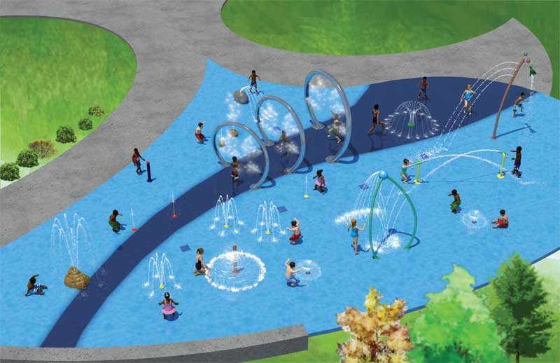 Three Reasons To Build A Splash Pad (and Three Things To Consider In Doing So!)