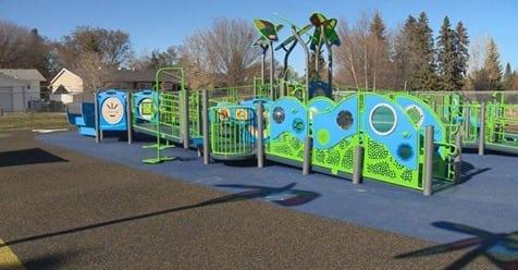 Park N Play Design Project Highlight - Saskatoon John Dolan Inclusive Playground3