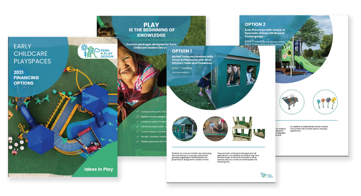 New Early Childcare Playground Financing Options Available