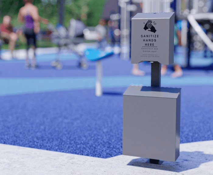 Playground Outdoor Hand Sanitizer Now Available