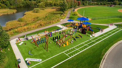 The Top Two Considerations in Planning an Outdoor Fitness Park