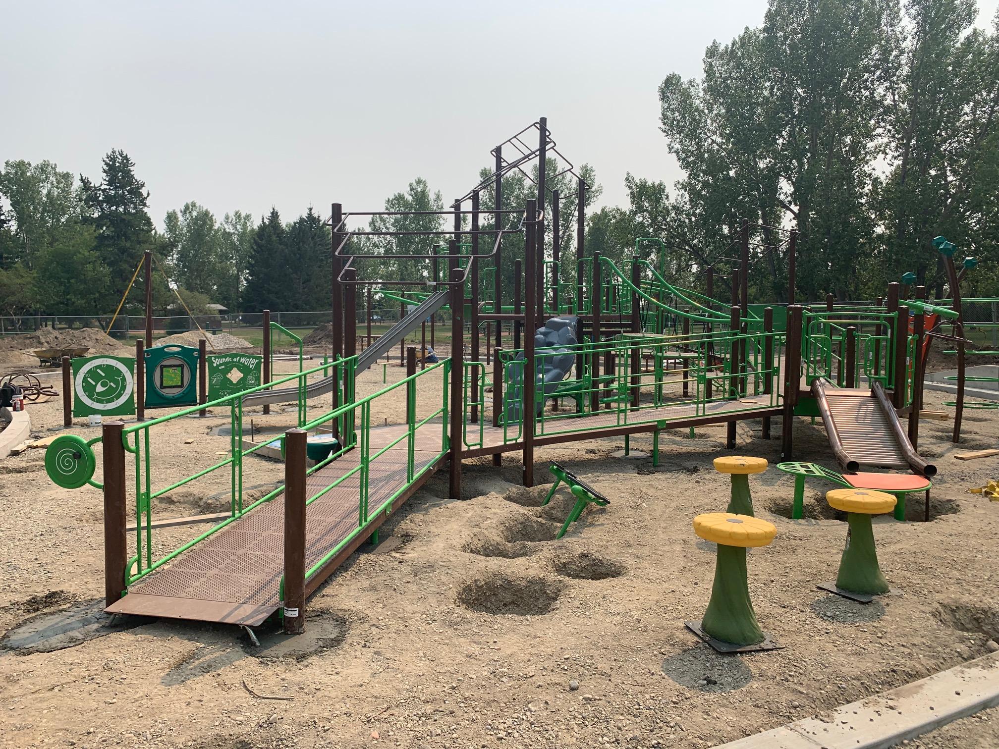 In Progress - North Glenmore Park (Calgary, AB)