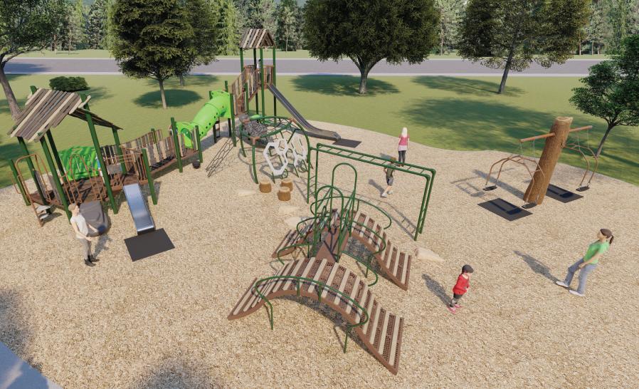 In Progress- Uplands Playground (Edmonton, AB)