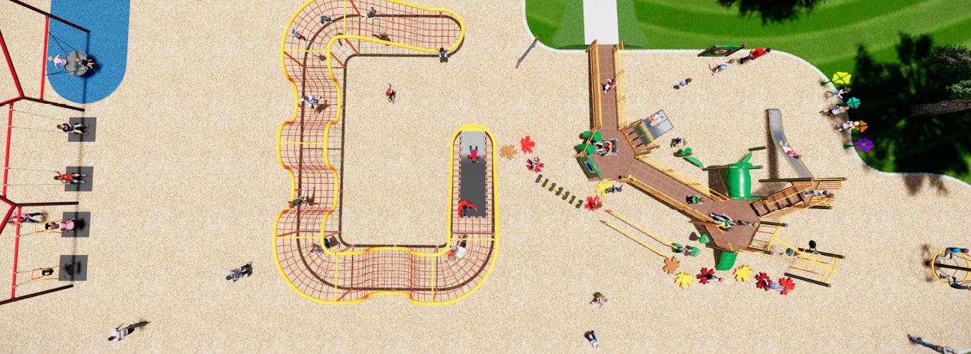 In Progress - Maple Crest Playground (Edmonton, AB)