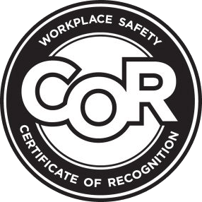 Workplace safety certificate of recognition cor certified