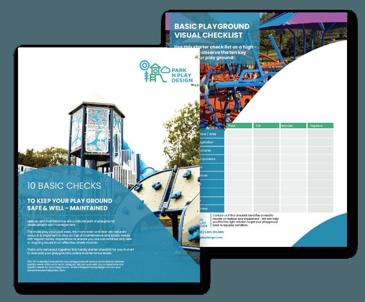 playground maintenance checklist preview