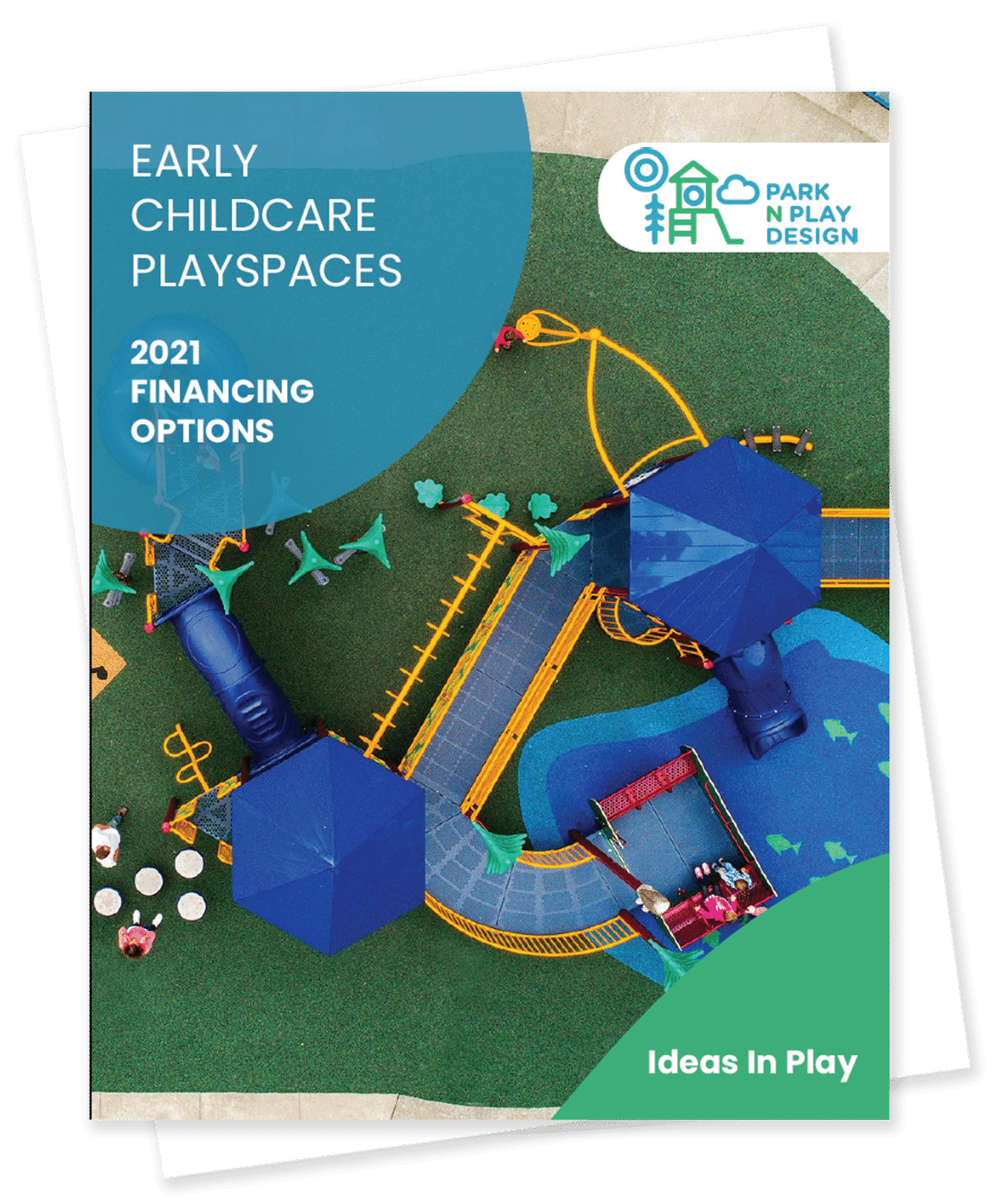 Early childcare playscapes front cover