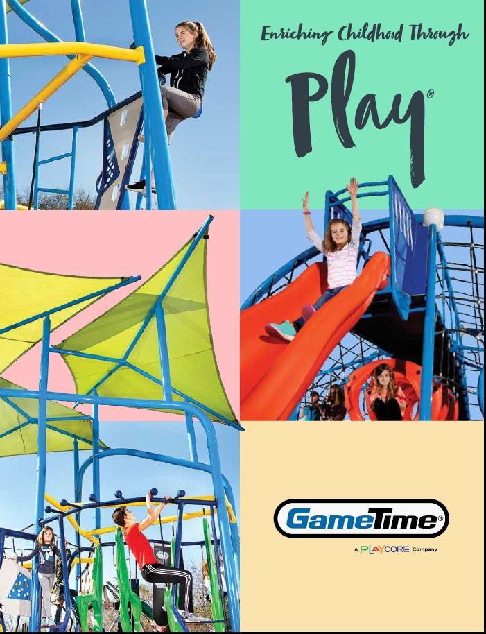 gametime 2021 playground equipment catalog