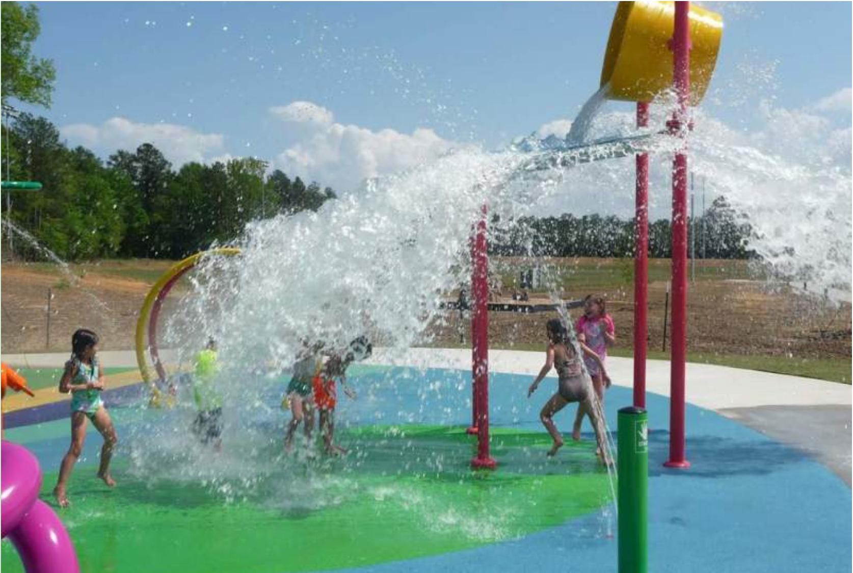 interactive water equipment